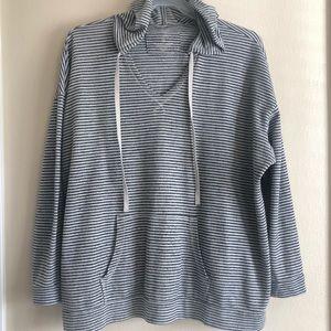 Sonoma Women's Striped pullover 3X